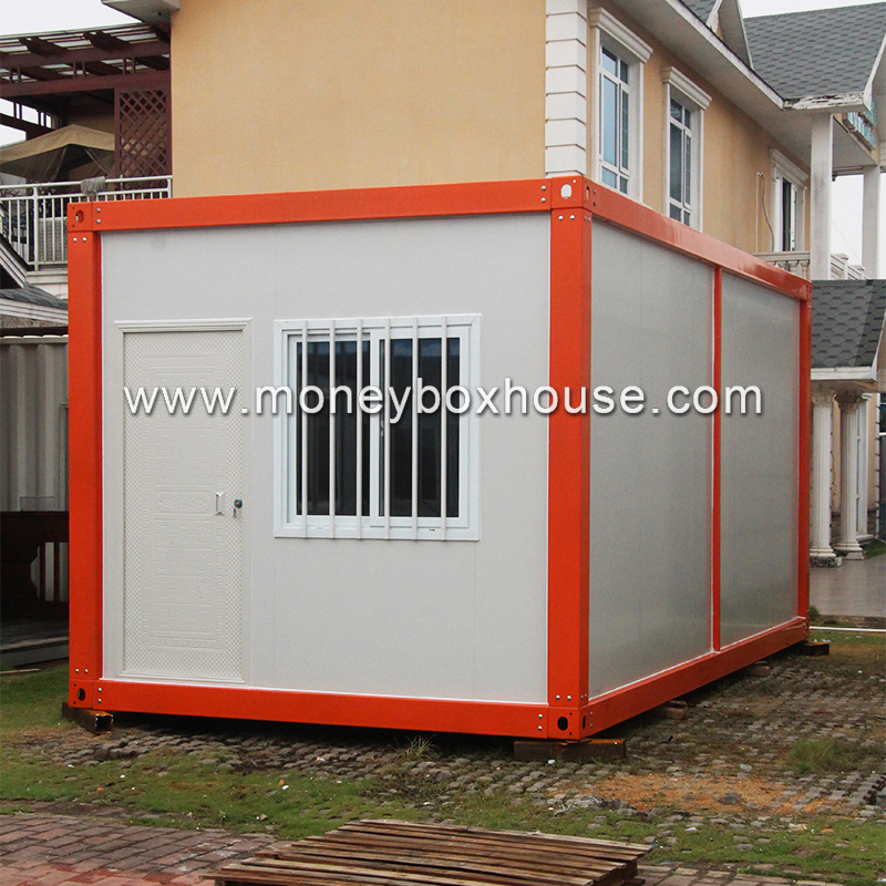 China factory low cost pre manufactured small modern prefab homes